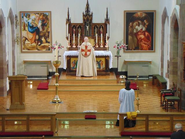 Benediction at St Joseph's