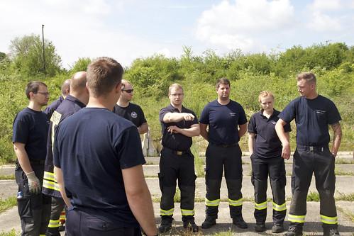 1605 THL Schwer Feuerwehr Rodgau