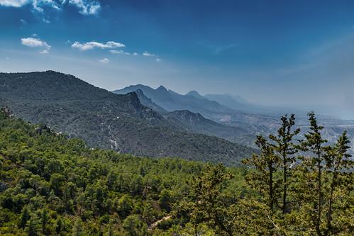 mountain landscape cyprus berge landschaft zypern