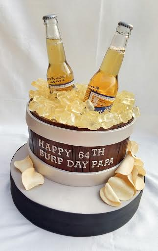 Beer Bucket Cake by Francisco Peralta of Caking Giant Cakes and Pastries