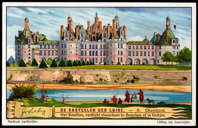 Liebig Tradecard S1272 - Château de Chambord