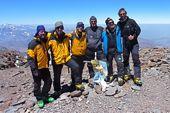 Aconcagua-Gipfel, 6962 m. Foto: Günther Härter.