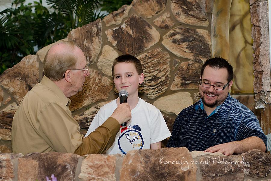 Nick's baptism