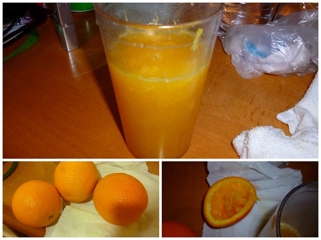 Self-squeezed orange juice