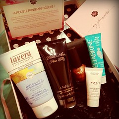 My may glossybox !  #glossybox #may #mai #lalique #payot #lavera #smink #heliabrine #cosmetics #nail #nailart #cream #aftersun #body #bodycream #fashion #box #makeup #spring #collection #brand #france #strasbourg  Glossy Box tests et avis sur la box