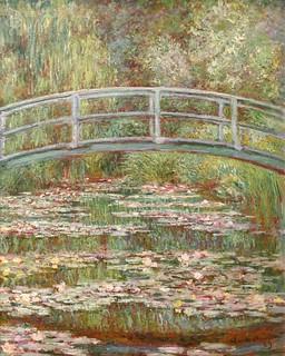 Puente sobre nenúfares, de Monet.
