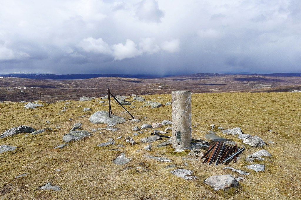 Summit of Meall na h-Aisre