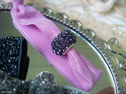 Maddyloo Hair Ties with Blingy Bead