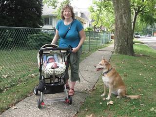 Walking with KFP & Una