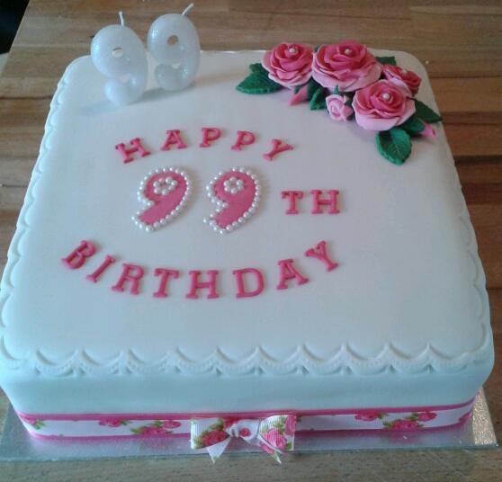 99th Birthday Cake Flickr - Photo Sharing!