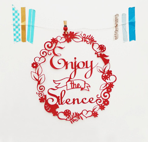 enjoy-the-silence-paper-cutting
