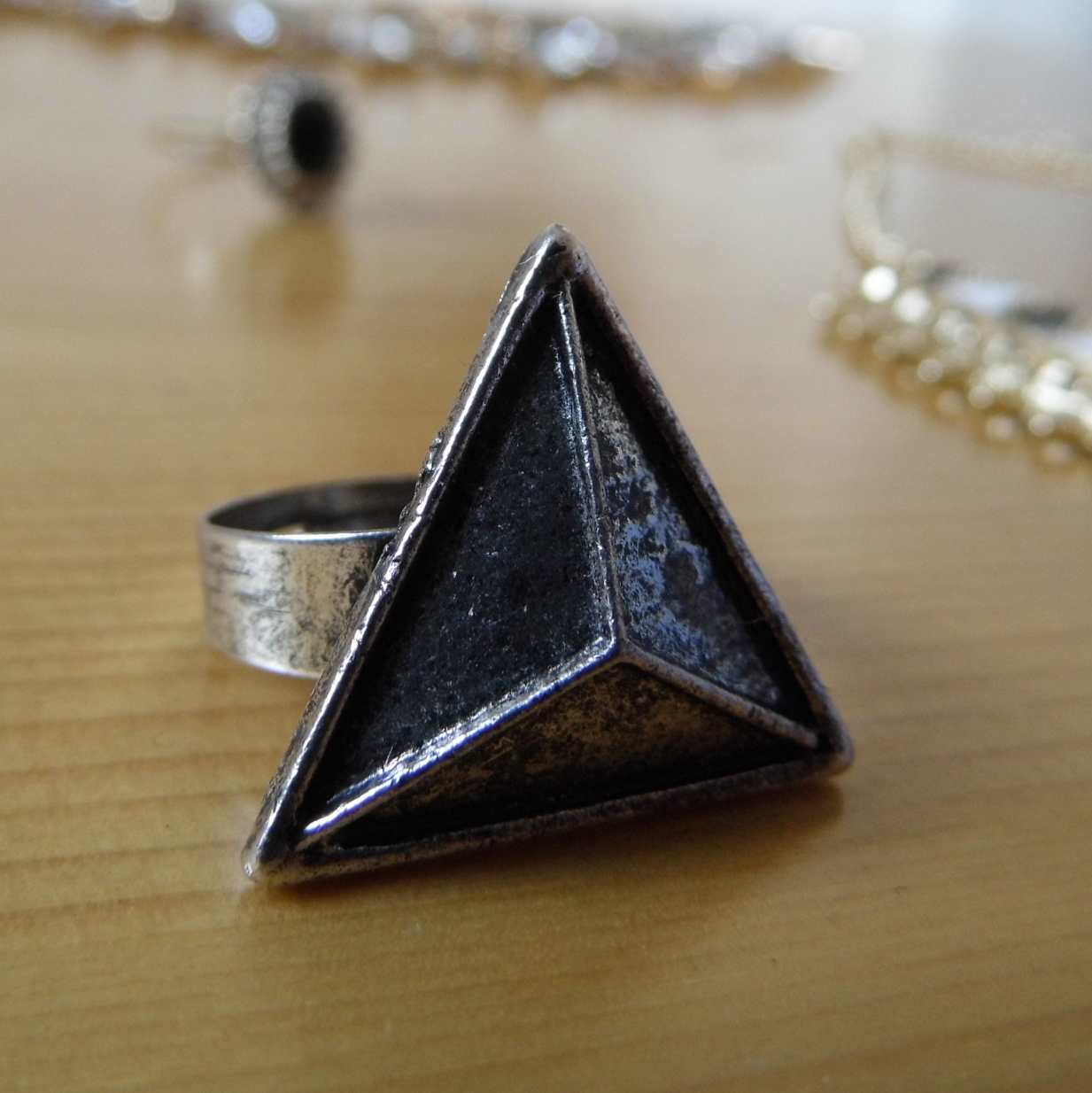 Temp:Sec Pyramid Ring