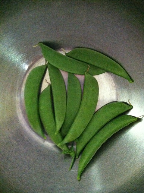 Snow Peas... not enough for anything