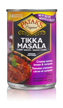 Patak's Tikka Masala Curry Sauce (can)
