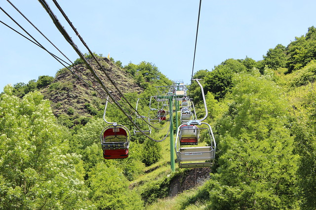 Bezienswaardigheden Cochem nr 2 Sesselbahn naar Pinner Kreuz