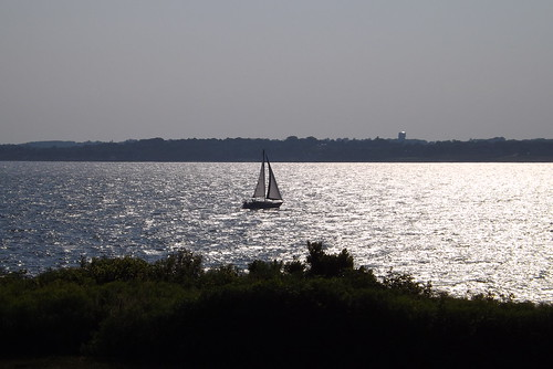 Sailing in the sunset by I {heart} Rhody