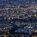 Zürich at night aerial view 02 by Sandro Bisaro