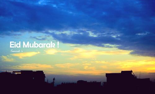 blue sunset sky sunlight black silhouette yellow festival clouds twilight muslim eid indigo colourfulsky eidmubarak 2013 project52 islamicfestival tasmiahsphotostream p5228 skyandsilhouette