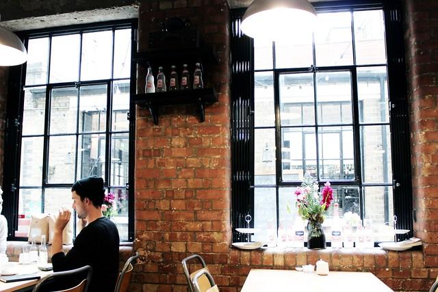 London Teil 4 (Clerkenwell + South Kensington) J+A Café