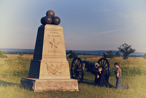 Confession at Dow's Battery - Gettysburg