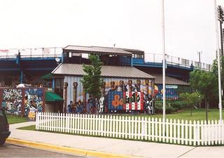 MIDWAY STADIUM MURALS