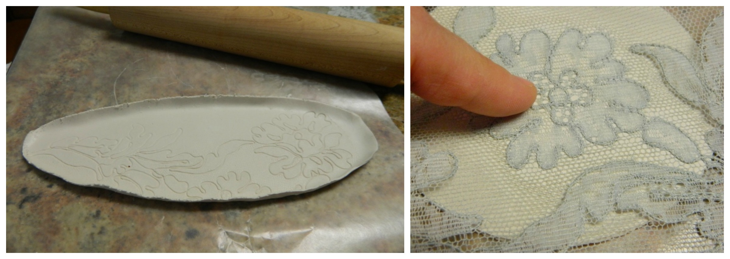 polymer clay tray