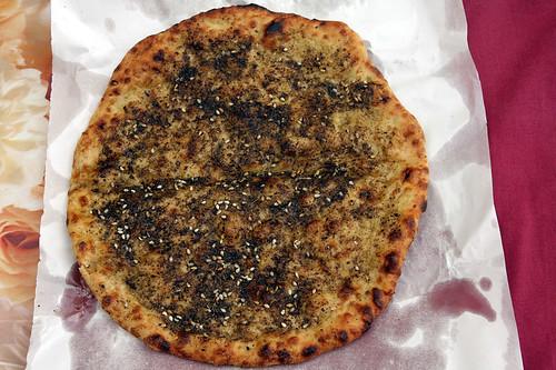 za'atar pita
