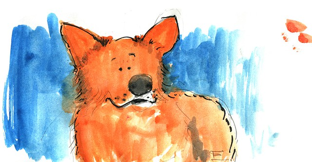 anopensketchbook_petportrait