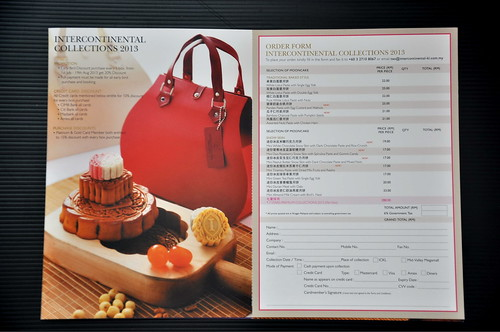 Mooncake Intercontinenatal Menu 3