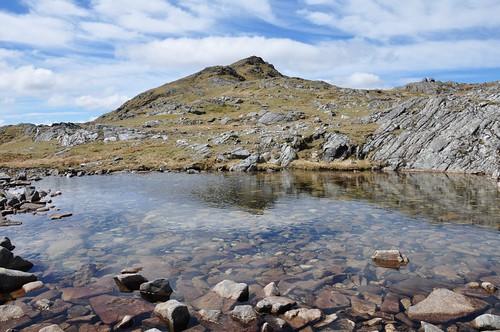 Beinn Resipol and summit lochan
