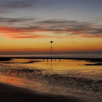 Prestatyn Beach Sunset