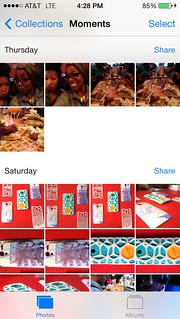 iOS7 Photos Moments