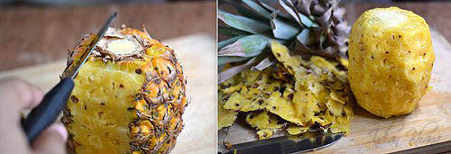 How to Cut up a Pineapple Anannasa DIY Recipes