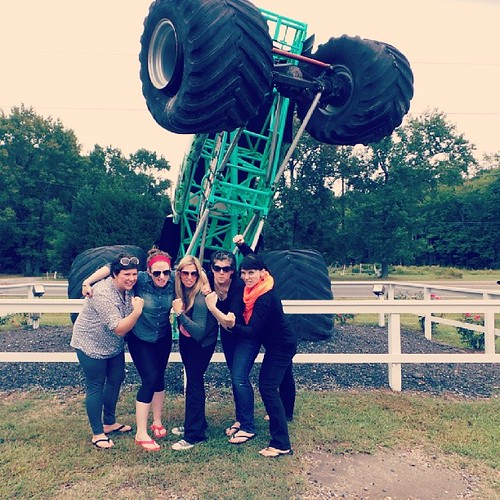 Grave Digger pit stop, somewhere in NC.