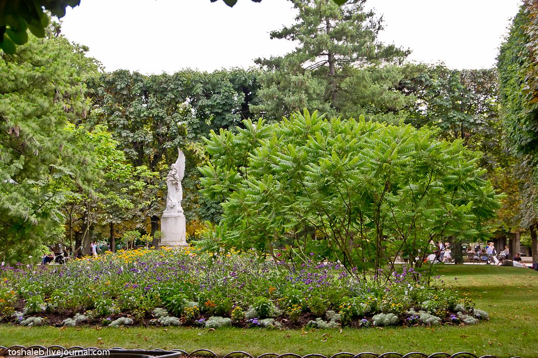 Люксембургские сады-4