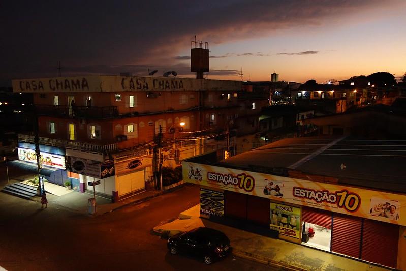 Fotografia do Pôr-do-Sol em Macapá, Amapá Brasil