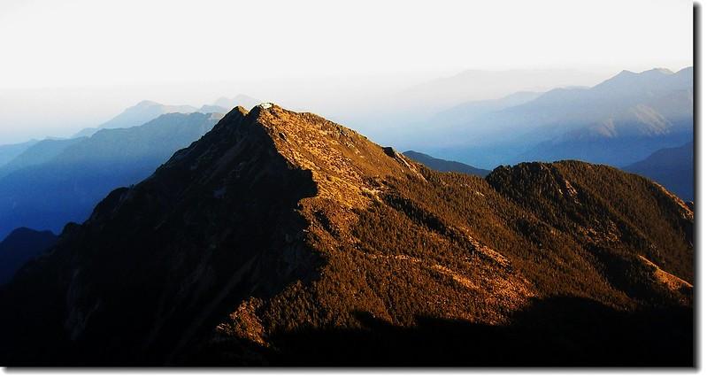 玉山北峰(From玉山主峰頂)