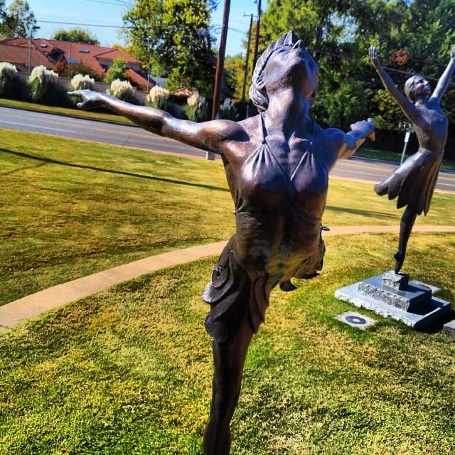 #maria_tallchief #sculpture #ballerina #tulsahistorycenter