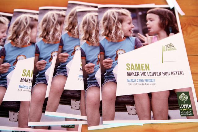 Start campagne 'Missie Zero Emissie' - Leuven Klimaatneutraal