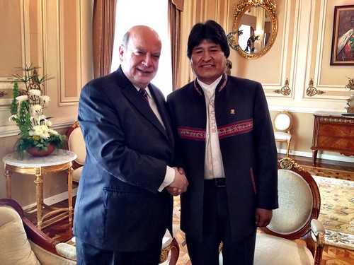 OAS Secretary General Met with the President of Bolivia