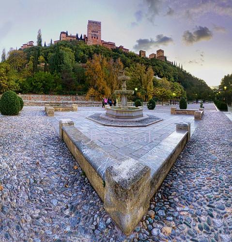 Alhambra de Granada by puma3023