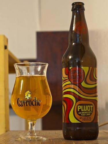 Review: New Belgium Pluot Ale (Lips of Faith) by Cody La Bière
