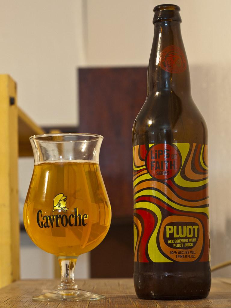 Review: New Belgium Pluot Ale (Lips of Faith)   I'm not sure