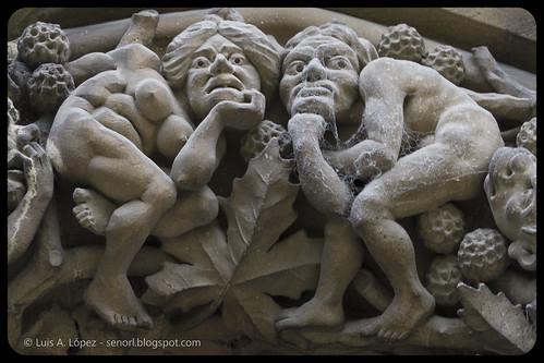 Detalles Catedral de Vitoria