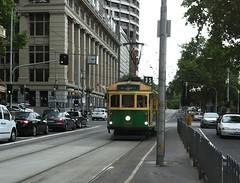 Melbourne City Circle tourist tram
