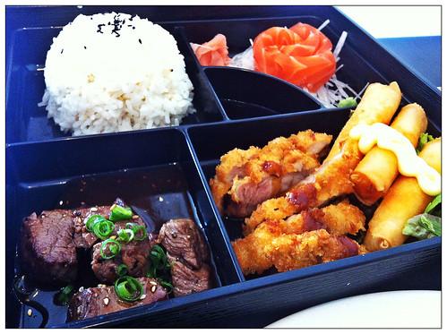 Sosumi bento box