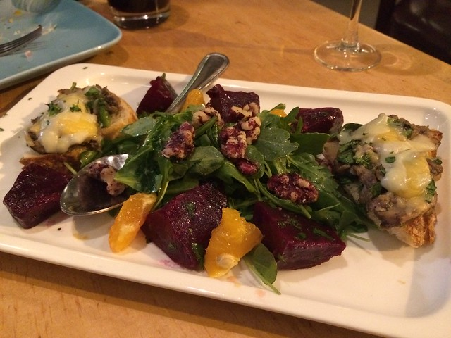 Roasted beet and tangerine salad - Radio Africa & Kitchen