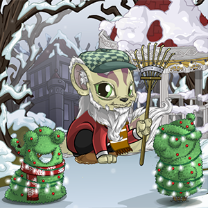 Holiday Petpet Topiaries