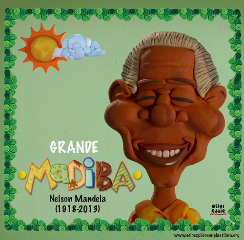 Madiba by alter eddie
