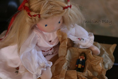 "Clara Marie and the New Doll. An 18"" Doll Set. 4 hour auction"